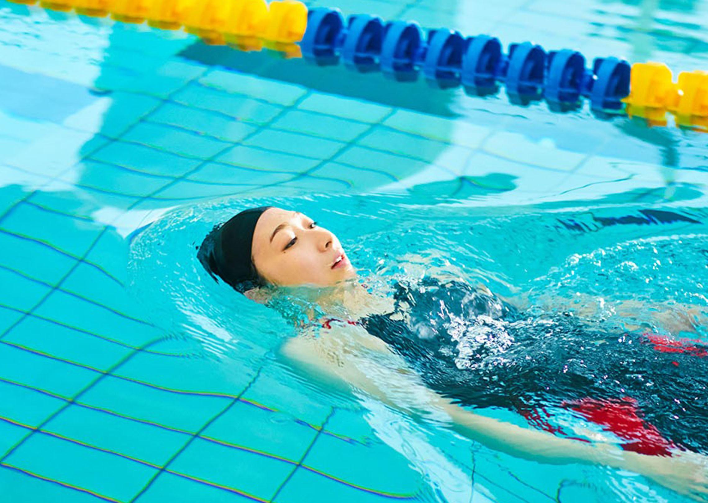 Swimming beyond