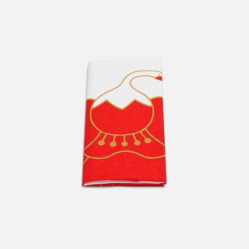 tenugui-white-red-crane