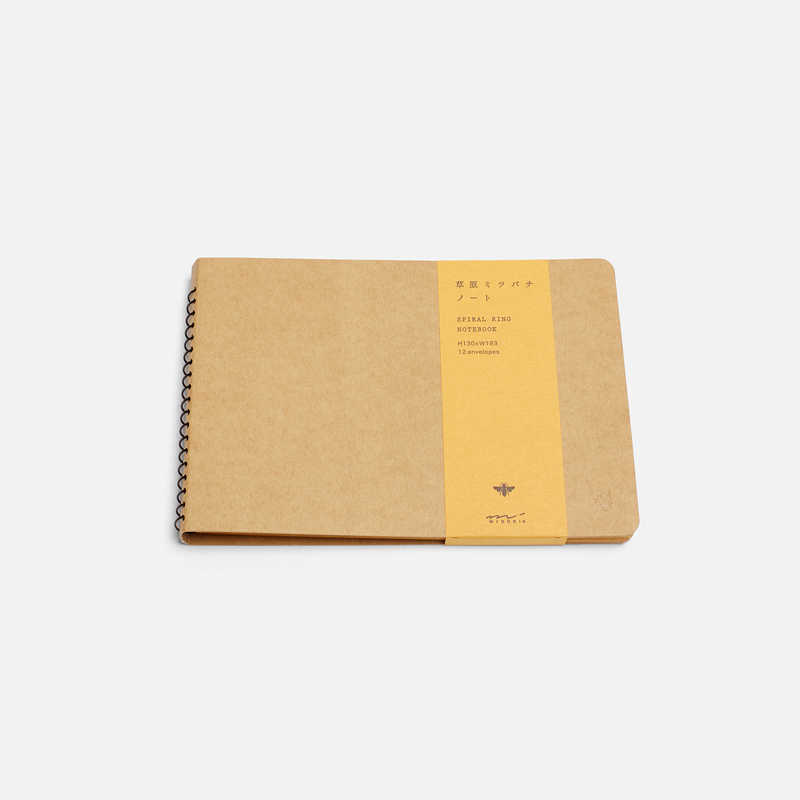 spiral-b6-notebook-envelope-bee