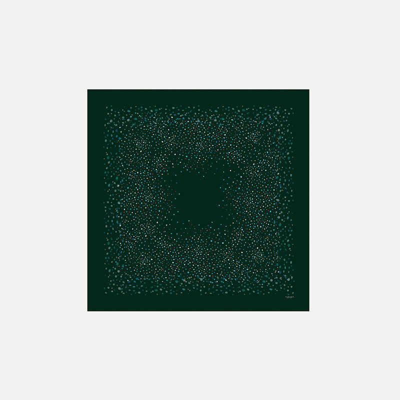 scarf-sawako-pois-green