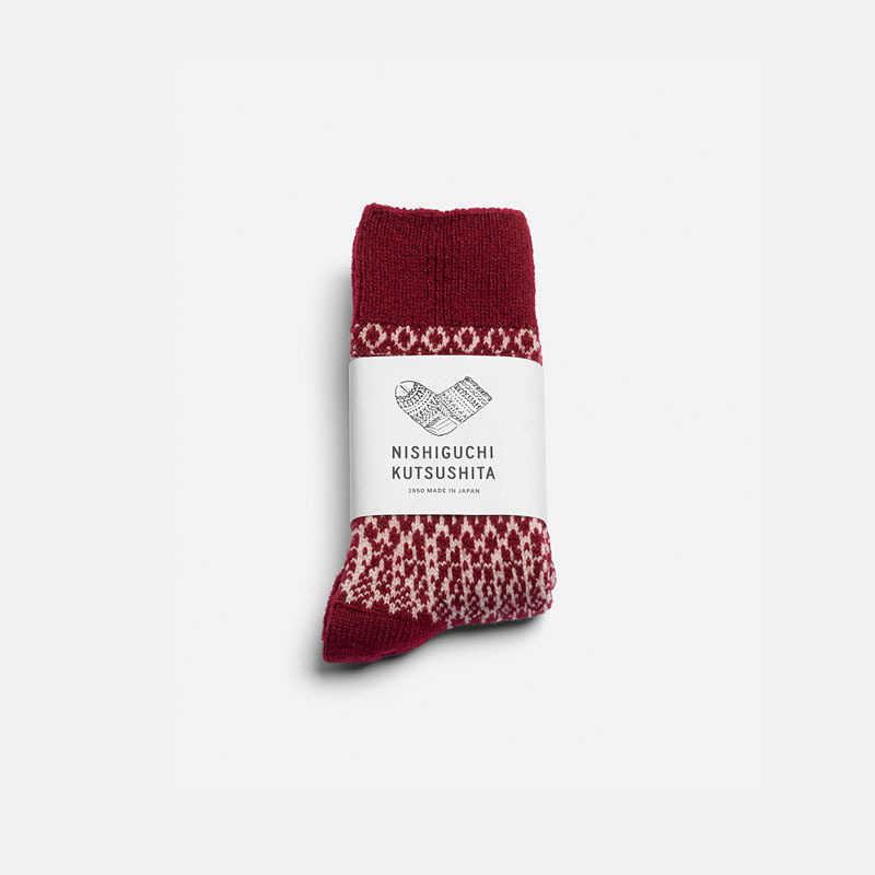 wool-jacquard-socks-wine-s