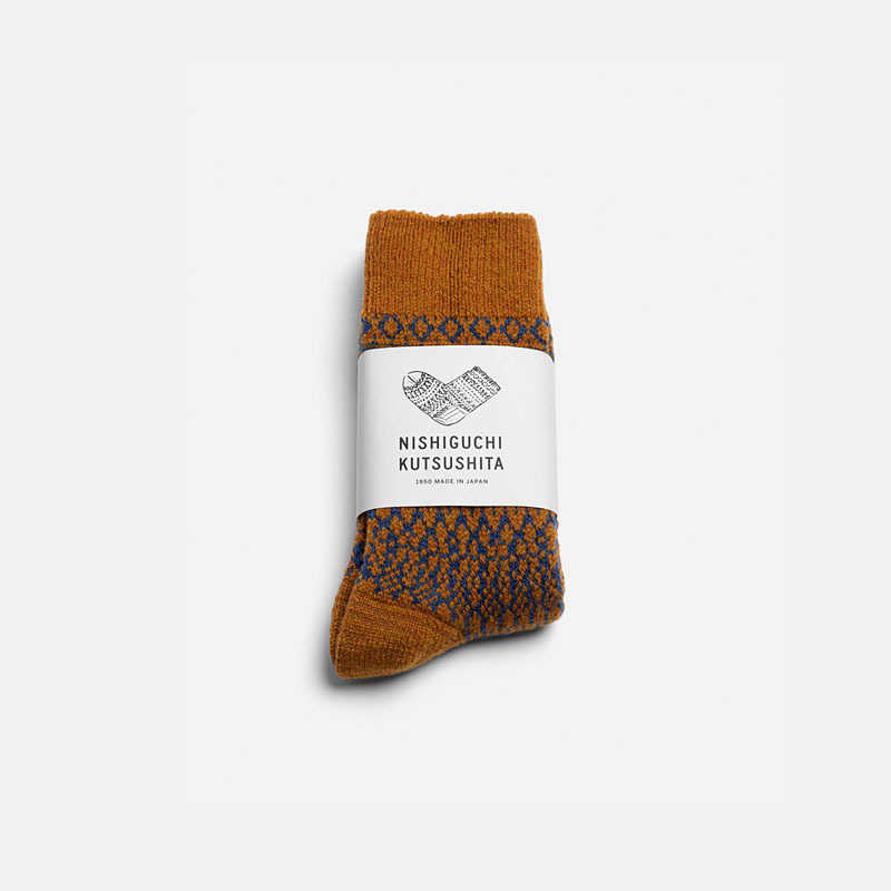 wool-jacquard-socks-mustard-m-limited-edition