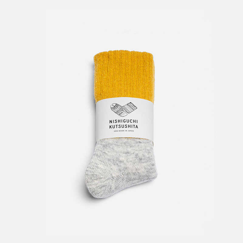 mohair-wool-pile-socks-mustard-s-m-limited-edition