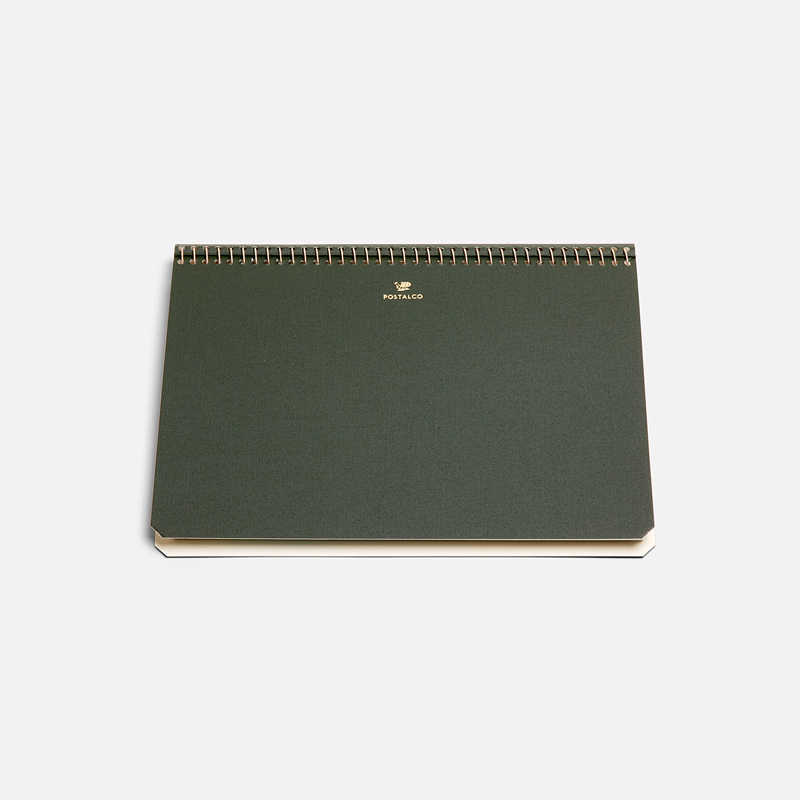 notebook-a5-dark-green