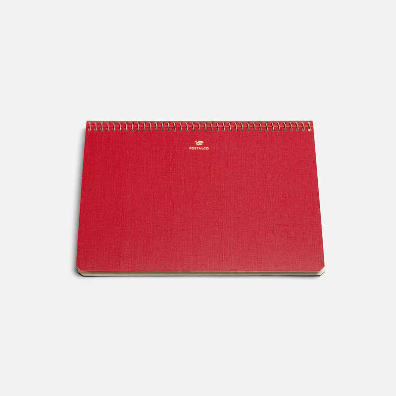 notebook-a5-red