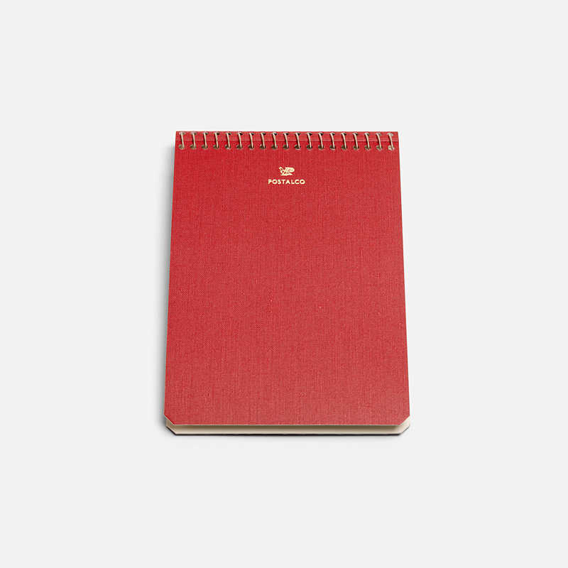 notebook-a6-red