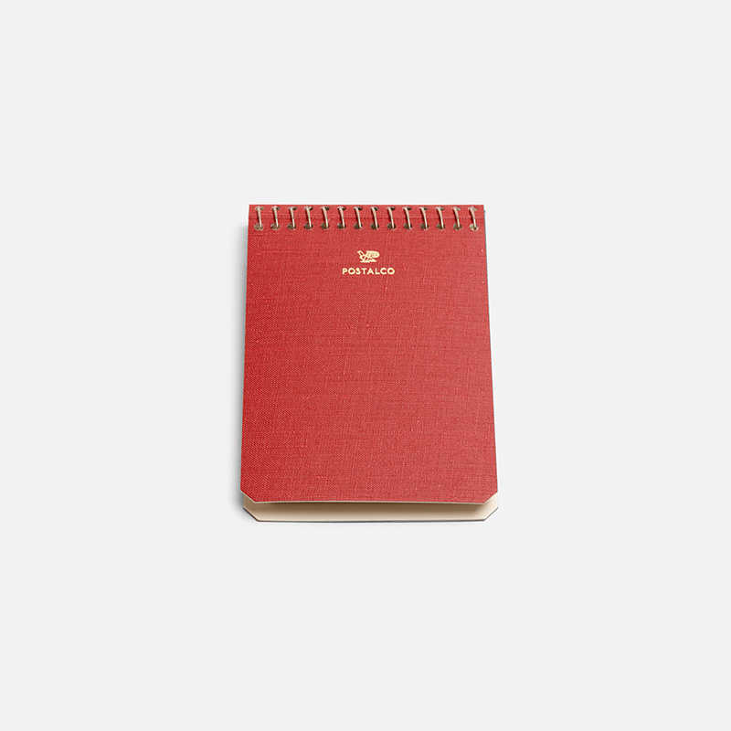 notebook-a7-red